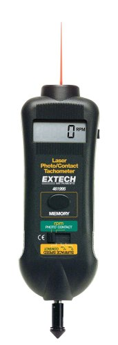 Extech 461995 Combination Contact Tachometer product image