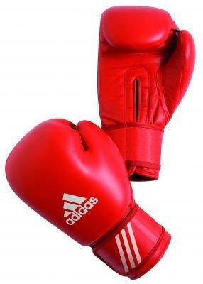 adidas - Guantes de Boxeo (con Licencia de AIBA, Color Rojo, tamaño 280 g: Amazon.es: Deportes y aire libre