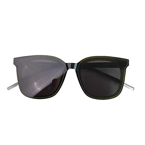 Sol Ropa Dos Placas Casual Shop Personalidad Gafas 6 Cuadradas Cristales De wtCUpxqB