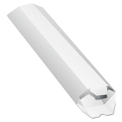 Expand-on-Demand Mailing Tube, 24l x 2dia, White, Sold as 1 ()
