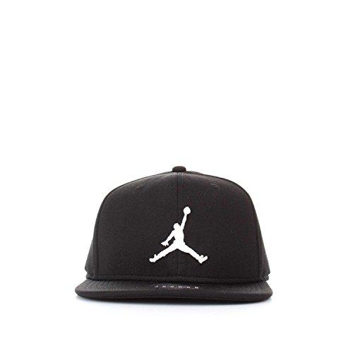 Nike Mens Jordan Jumpman Snapback Hat Black/White 861452-013
