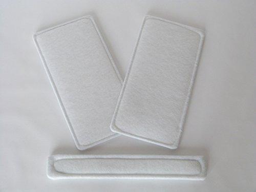 Kit filtre de rechange–alternatif G4Convient pour Helios kwl EC 270/370avec bypass Onze de kwl 270/3704/4BP 09613& 09617 Sparhai24