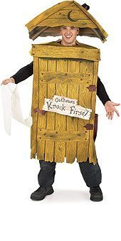 Outhouse Halloween Costumes (OUTHOUSE COSTUME)
