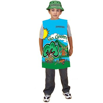 Dexter Halloween Costumes (Dexter Educational Toys Dex131 Gardner Costume)