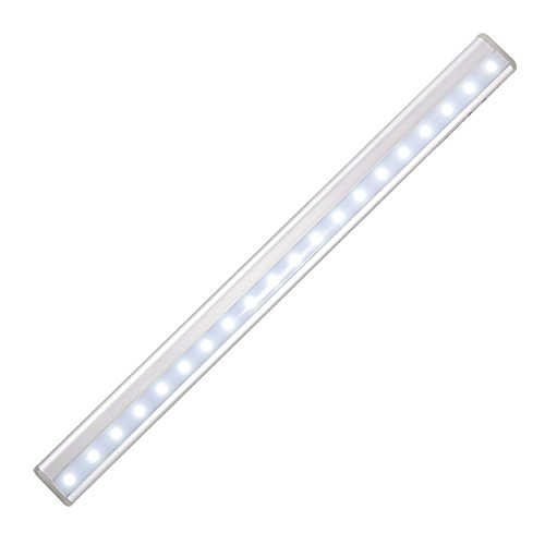 Hoja de roble recargable luz de clóset, portátil 20LED SENSOR de movimiento inalámbrico luz de noche LED para armarios,...
