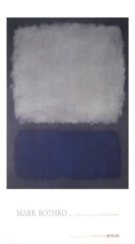 rothko poster blue