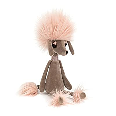 Jellycat Swellegant Penelope Poodle Stuffed Animal, Small 13 inches: Toys & Games