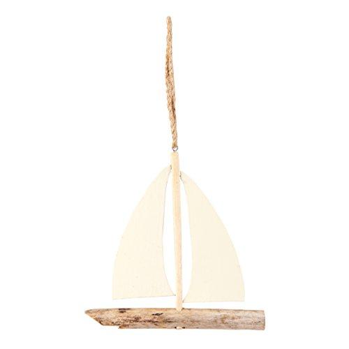 Driftwood Sailboat Ornament (Driftwood Ornaments Christmas)