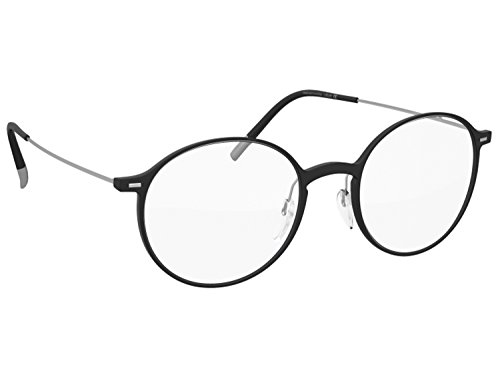 Silhouette Eyeglasses Urban NEO Fullrim (black silver - Glasses Silhouettes
