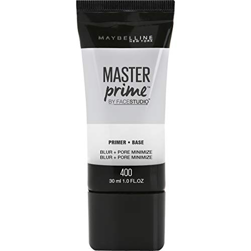 Maybelline New York Facestudio Master Prime Primer Makeup, Blur + Pore Minimize, 1 Fl Oz (1 Count)
