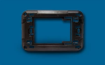 AERTECNICA serie NA684 Supporto adattatore per placca grigio scuro Gewiss Playbus