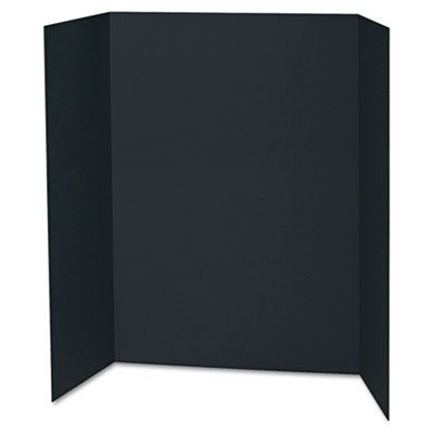 Spotlight Corrugated Presentation Display Boards, 48 x 36, Black, 24/Carton, Sold as 2 Carton, 24 Each per Carton by Pacon