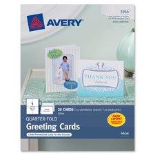 Quarter-Fold Card, 4-1/4