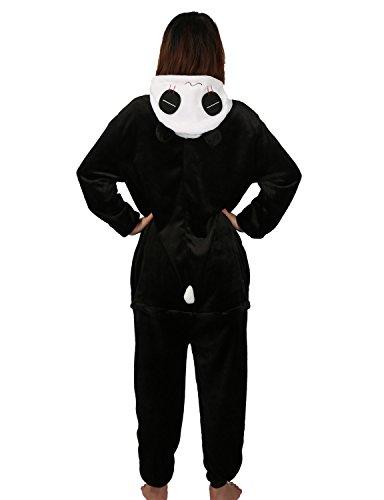 PIN Panda Carnaval Disfraces Pijama Animales Disfraces Outfit Animales Dormir Traje Animales OneSize Sleepsuit con Capucha Adultos Unisex de Forro Polar ...