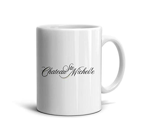 AOGU22XIAN Custom 11 Oz White Ceramic Cups Chateau-Ste.-Michelle-a-Coffee Mugs Perfect Souvenir