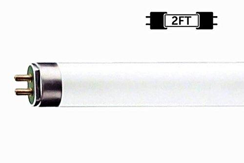 (6 Pack) F17T8/841 17W 24 Inch T8 Fluorescent Tube Light Bulb, 4100K Cool White, Medium Bi-Pin (G13) Base, 17 Watt T8 Light Bulbs by Circle (Image #2)