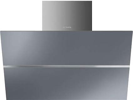 Smeg KCV80SE2 De pared Acero inoxidable 720m³/h A - Campana (720 m³/h, Canalizado, A, A, F, 65 dB): Amazon.es: Hogar