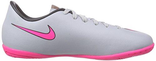 Nike Mercurial Victory V Ic, Botas de Fútbol para Niños Gris - Grau (Wolf Grey/Hyper Pink/Black/Black)