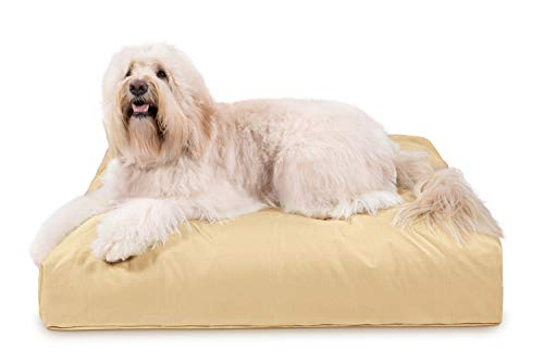 Beds Dog Diva - K9 Ballistics Tough Rectangle Nesting Large Dog Bed- Washable, Durable and Waterproof Dog Bed - Made for Big Dogs, 34