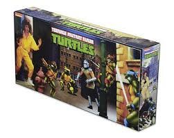 Sdcc 2016 tmnt foot soldiers teenage mutant turtles Neca exclusive comic con arcade Box set four figurines (Neca Ninja Turtles compare prices)