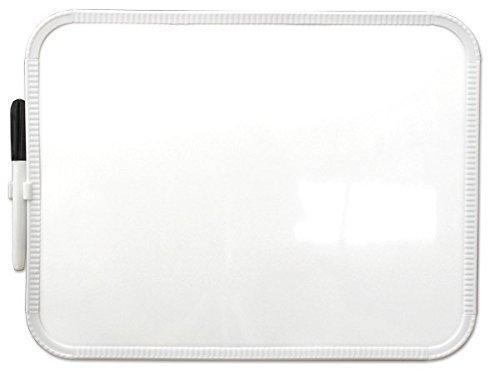 Kinder Whiteboard Weisswandtafel 29 x 21,7 cm Schreibtafel Memoboard Schreibstift/Radierer Modell: KB04