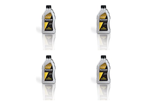 Kawasaki 4-Stroke Full Synthetic Motorcycle Oil 10W40 1 PACK OF 4 Quart