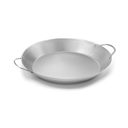 Outset QS68 Paella Pan, Stainless Steel by Outset