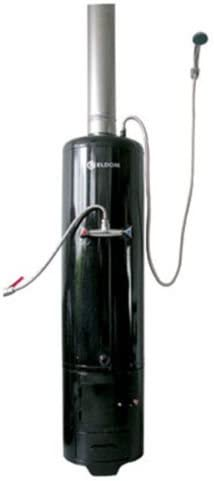 para quemar y esmaltar Calentador de agua de combustible s/ólido de 80 litros de madera vertical montaje en suelo