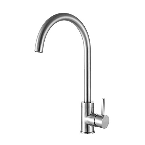 LHbox Tap Sprayer Spout Kitchen Faucet Stainless Steel hot and Cold Water Kitchen Faucet Dish Pool Water Mixing Valve Faucet Sink air Washing Dishes in a Bathtub Faucet
