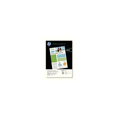 HP Q6593A Professional Inkjet-Papier matt (beidseitig beschichtet) 120g/m2 A4 200 Blatt, weiß