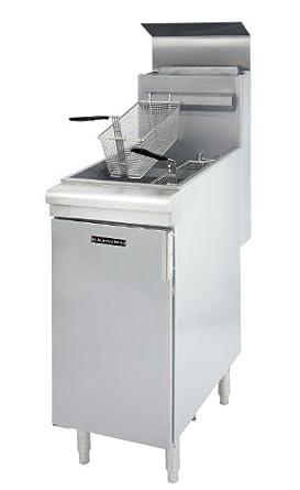 Amazon.com: Freidora Comercial 90,000btu 35lb freidora ...
