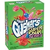 Gushers Sour Berry 4.25oz 8ct
