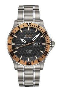 M0114305406102 Men's Ocean Star Captain IV Titanium - Mido M011.430.54.061.02