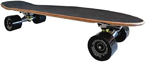 Skate Longboard Completo Ideal para desplazarse Skateboard Mediano de Madera Cruiser Allroad BeXtreme Cruising Penny Monopatin para ni/ños y Adultos
