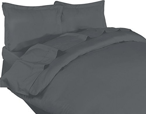 Brushed Polyester Cover (Utopia Bedding 3 Piece King Duvet Cover Set with 2 Pillow Shams,)