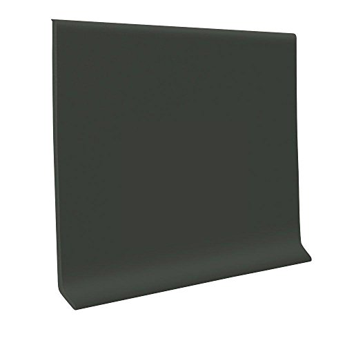 700 Series Black Brown 4 in. x 48 in. x .125 in. Wall Base Cove (30-Pieces)