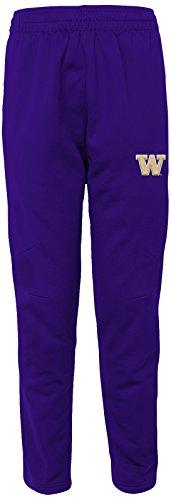 "NCAA by Outerstuff NCAA Washington Huskies Men's ""First String"" Field Pant, Regal Purple, Men's XX-Large"