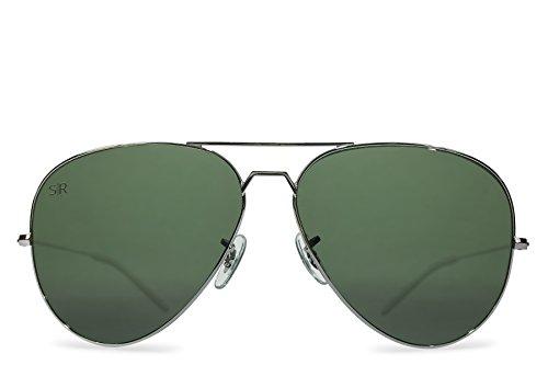 Shady Rays Aviator Elite Polarized Metal Sunglasses Ranger]()