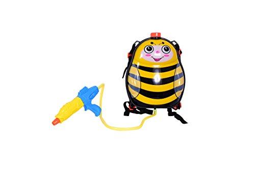 Honey Bee India (Planet of Toys Water Splash Pichkari with 3 Litre Water Tank Backpack - Honey Bee For Kids / Children)