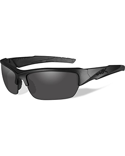 Wiley X Valor Ops Sunglasses, Grey/Black, Polarized Smoke - X Sunglasses Wiley Polarized