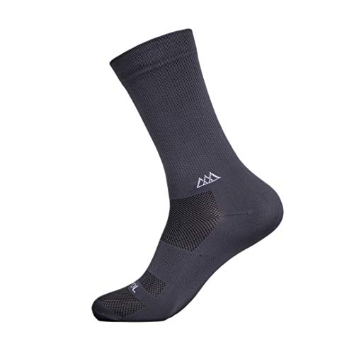 Huizapol Calcetines Deportivos para Ciclismo y Atletismo con compresión Medida 2PRO (S-M, Oxford)