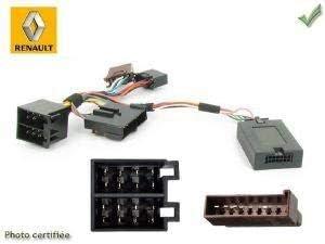 Interface Commande au volant RN2J pour Renault 97-00 ISO JVC ADNAuto