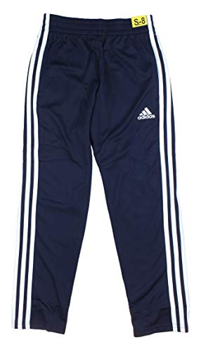 (adidas Boys Tricot Track Pants (Navy, Medium))