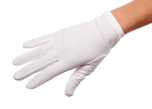 [Ringleader Elasticized Cuff Wrist Length Matte (Diamond White Size B)] (Ladies Ring Leader Costume)