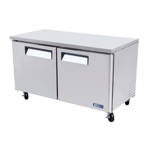 Turbo Air MUF-60 Under Counter Freezer, Two Door, 16 cu - Kitchen Door Swinging Restaurant