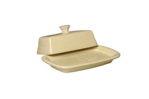 (Fiesta Covered Butter Dish, X-Large, Ivory )