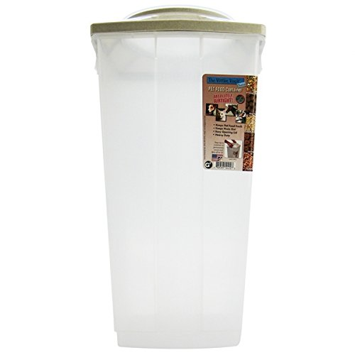 40 Lb Storage (Vittles Vault Home 40 lb Airtight Pet Food Storage Container)