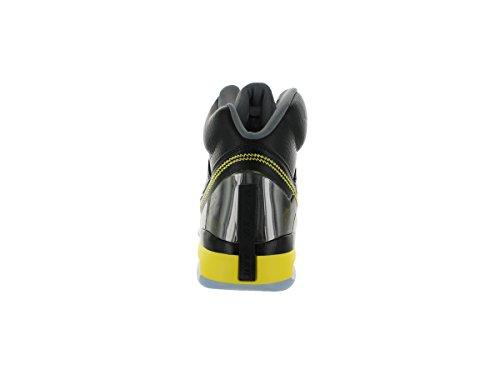 Nike - Zapatillas de Deporte de cuero Hombre Negro/Amarillo Vibrante/Gris 070