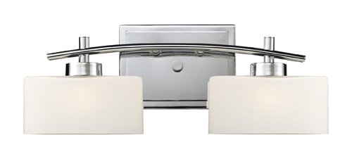 Elk 17081/2 Eastbrook 2-Light Vanity In Polished (Elk Lighting Wall Vanity)