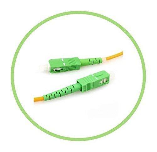 Cable Fibra Optica OS1 15mt SC/APC a SC/APC SIMPLEX 9/125